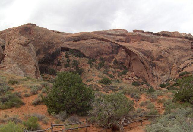 Zdj�cia: Utah, Landscape Arch, USA