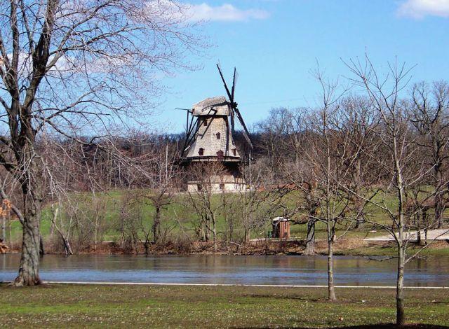 Zdjęcia: Illinois, wiatrak w Batavi, USA