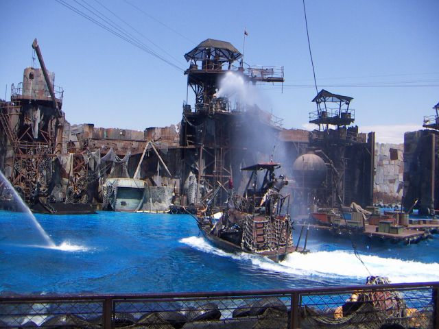 Zdjęcia: Uniwersal Studio  -  SHOW dla Ciebie jesteś przecież gościem, zachodnie wybrzeżef - fabryka snów, LOS ANGELES, USA