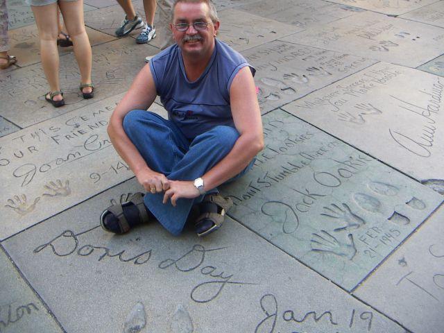 Zdjęcia: Aleja Gwiazd  i ja, zachodnie wybrzeżef - fabryka snów, LOS ANGELES, USA