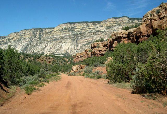 Zdjęcia: Kolorado, zjazd do Echo Canyon, USA