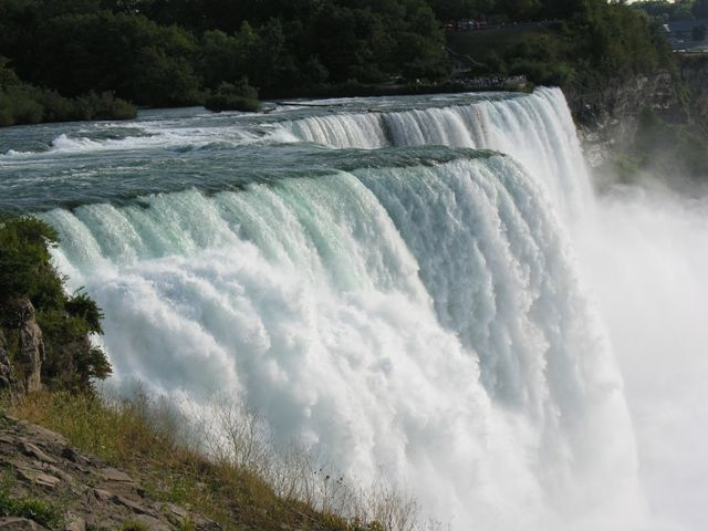 Zdjęcia: Niagara Falls, Siła wody, USA