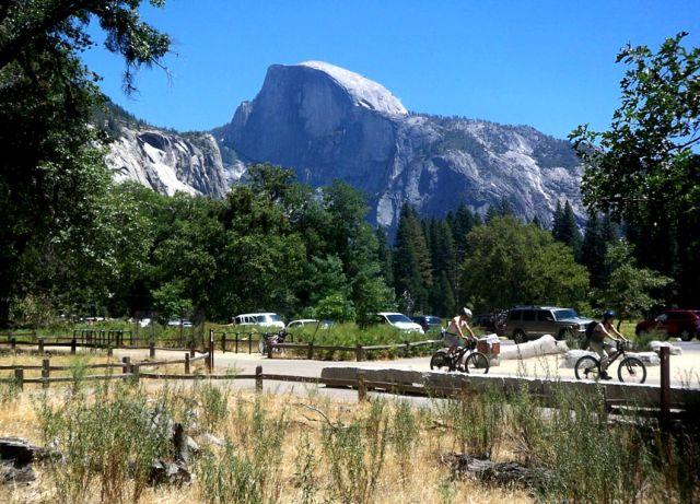 Zdjęcia: Kalifornia, Half Dome w Yosemite National Park, USA