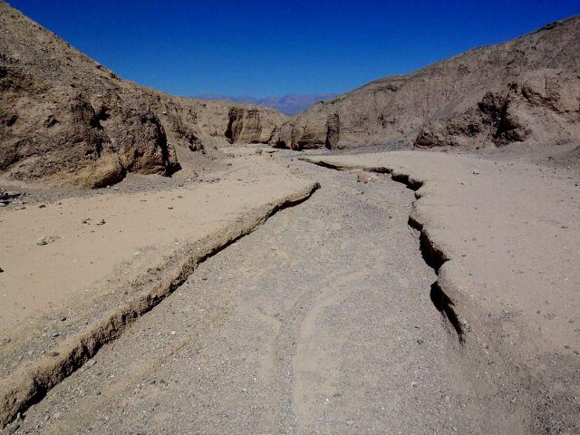 Zdjęcia: Kalifornia, koryto rzeki okresowej, USA