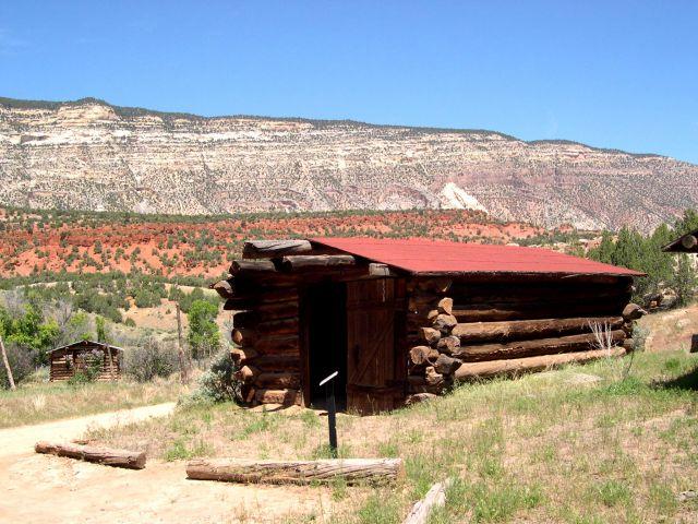 """Zdjęcia: Kolorado, """"bacowka"""" w pln Kolorado, USA"""