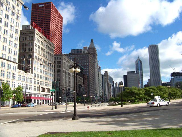 Zdjęcia: Illinois / Chicago, Michigan Avenue, USA