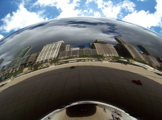 Zdj�cia: Illinois / Chicago, Cloud Gate  3, USA