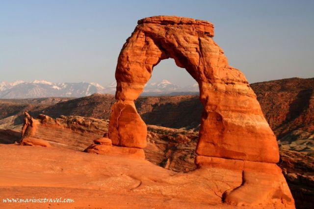 Zdjęcia: Arches NP, Utah, Delicate Arch, USA