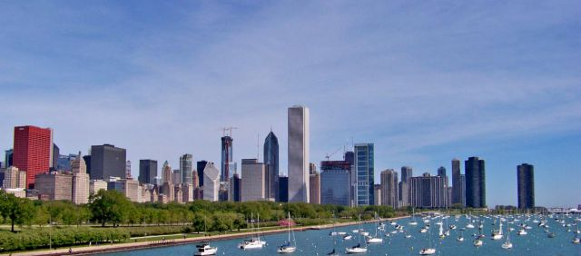 Zdjęcia: Illinois / Chicago, skyline , USA