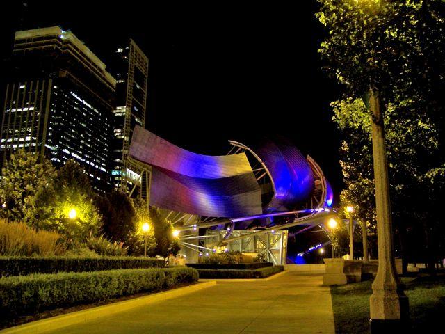 Zdjęcia: Illinois / Chicago, amfiteatr w Millenium Park, USA
