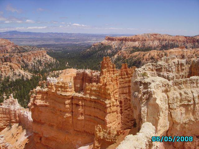 Zdjęcia: Amfiteatr  Bryce Canyon, Utah-, Bryce Canyon 2, USA