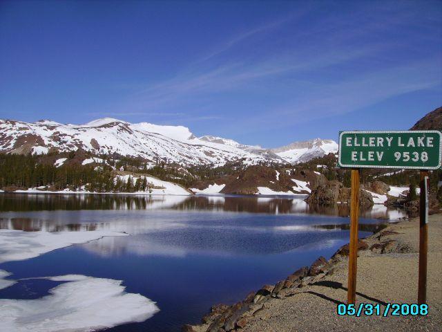Zdjęcia: Na przełęczy, California, W drodze do Yosemite, USA