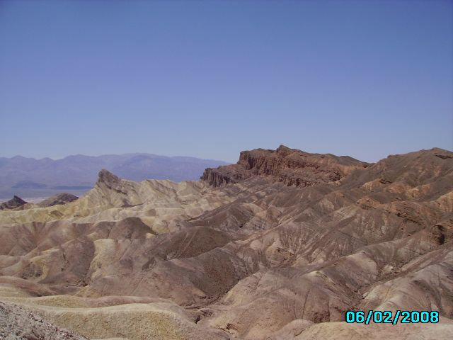 Zdjęcia: Zabriskie Point, Newada, Death Valley, USA