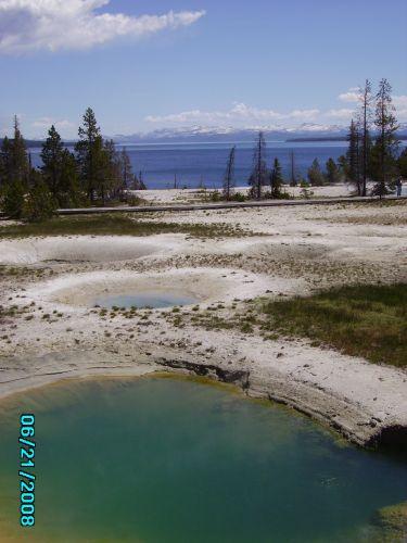 Zdjęcia:  West Tumb Basin, Wyoming, Yellowstone, USA