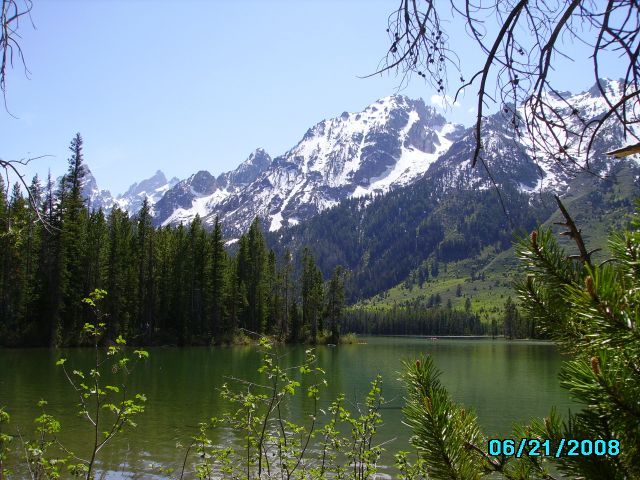 Zdjęcia: Grand Teton Park, Wyoming, String Lake, USA