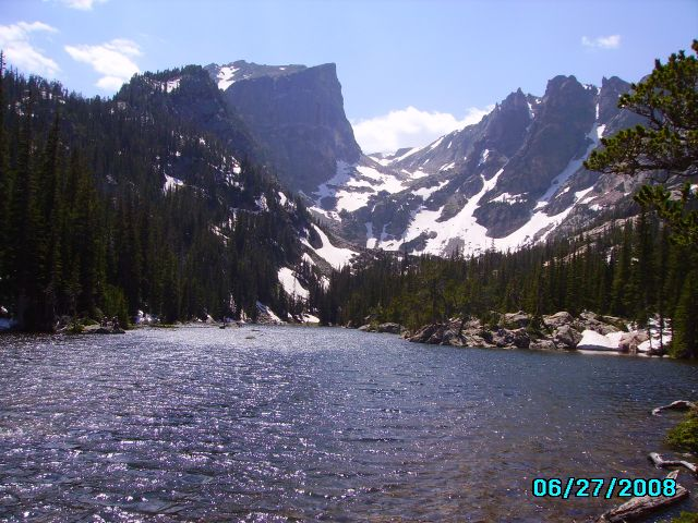 Zdjęcia: Rocky Mountain Nat.Park, Colorado, zprzełęcz nad Dream Lake, USA