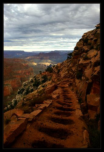 Zdjęcia: na szlaku, Arizona, Grand Canyon 4, USA