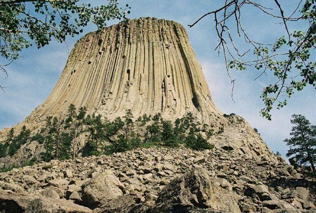 Zdjęcia: Pół - Wsch. Wyoming, Wieża Diabła, USA