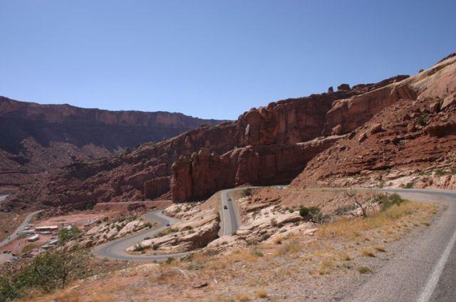 Zdjęcia: Arches NP, Utah, Droga, USA