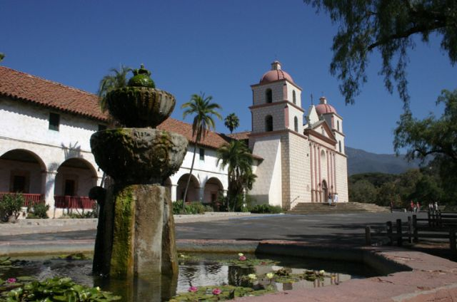 Zdjęcia: Santa Barbara, Kalifornia, Kościół, USA