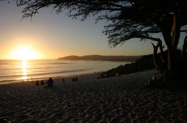 Zdjęcia: Zatoka Monterey, Kalifornia, Po długim dniu, USA