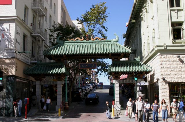 Zdjęcia: San Francisco, Kalifornia, Brama do Chinatown, USA