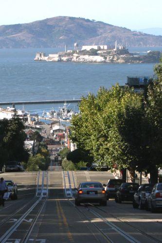 Zdjęcia: San Francisco, Kalifornia, Z Alcatraz w tle, USA