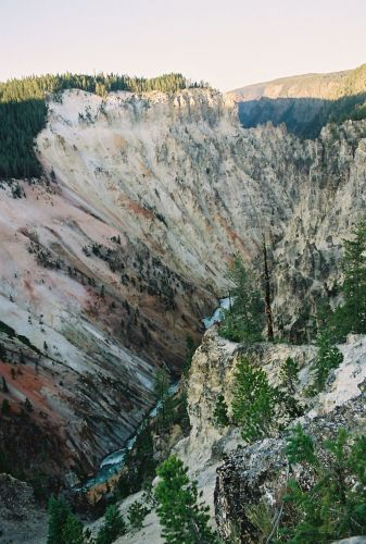 Zdjęcia: Yellowston, Kanion Rzeki Yellowstone, USA