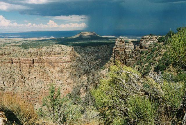 Zdjęcia: Grand Canyon National Park, Przed Burzą, USA