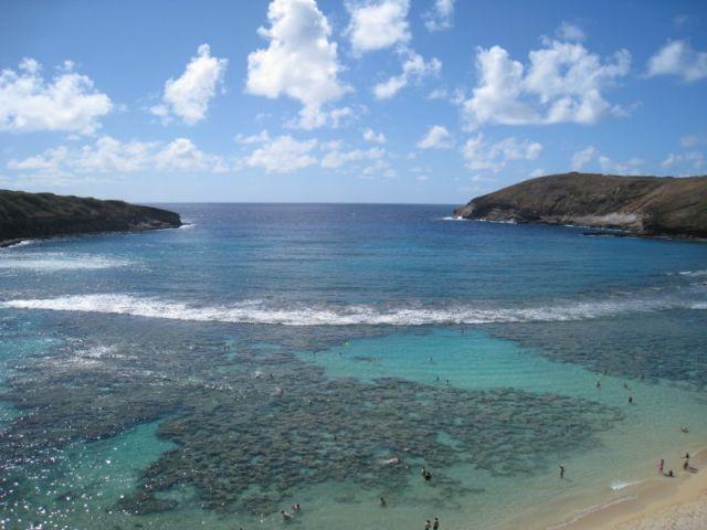 Zdjęcia: Hanauma Bay - Oahu, Hawaje, Hanauma Bay, USA