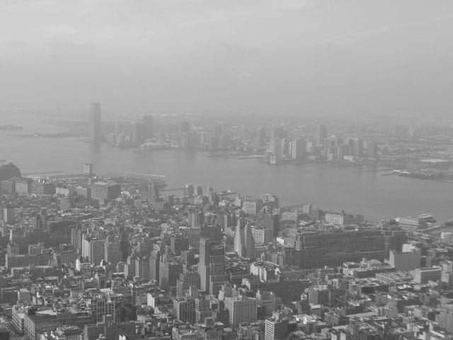 Zdjęcia: NYC, Nowy Jork, Widok z Empire State Building, USA