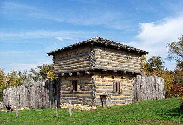 Zdjęcia: Illinois / Elizabeth, Apple River Fort, USA