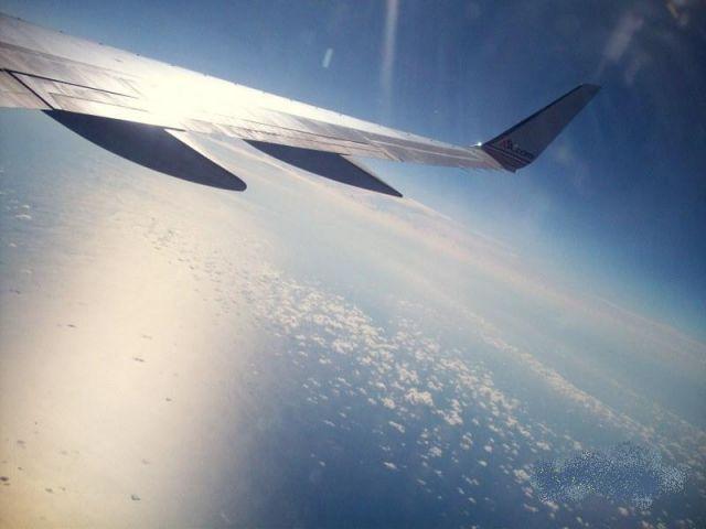 Zdjęcia: samolot, w drodze do Miami, ...w przestworzach..., USA