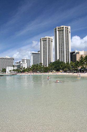 Zdjęcia: Wyspa Oahu, Hawaje, Waikiki Beach, USA
