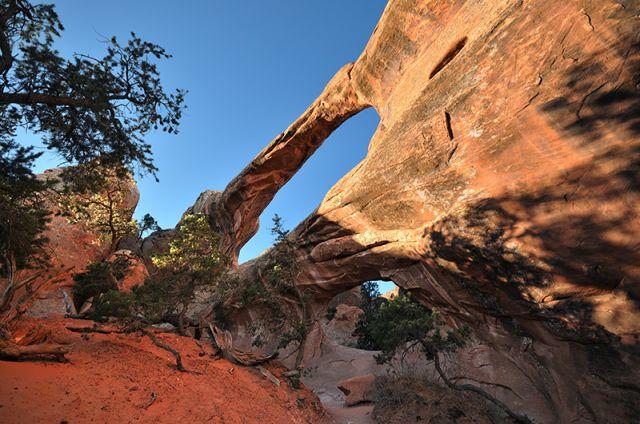Zdjęcia: Arches, Utah, Double oo Arch, USA