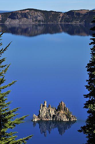 Zdjęcia: Crater Lake NP, Oregon, Phantom Ship, USA