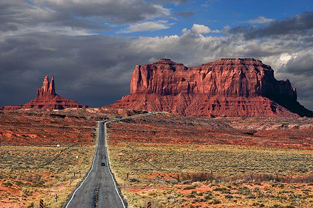 Zdjęcia: Monument Valley, Utah/Arizona, Na granicy Utah i Arizony, USA