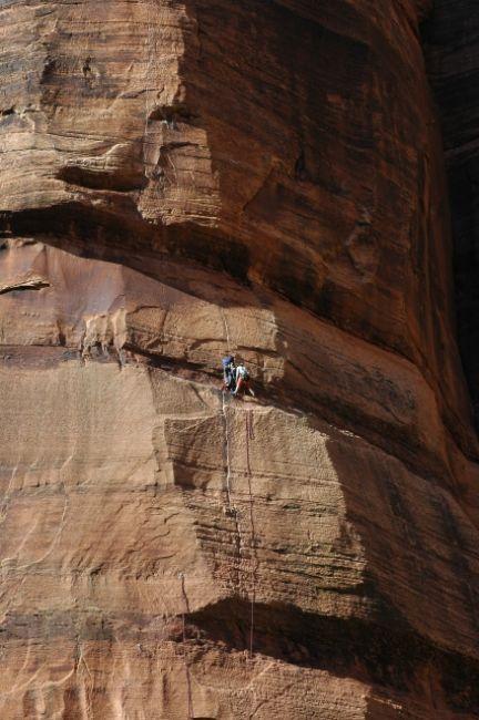Zdjęcia: Zion National Park, Utah, wspinaczka, USA