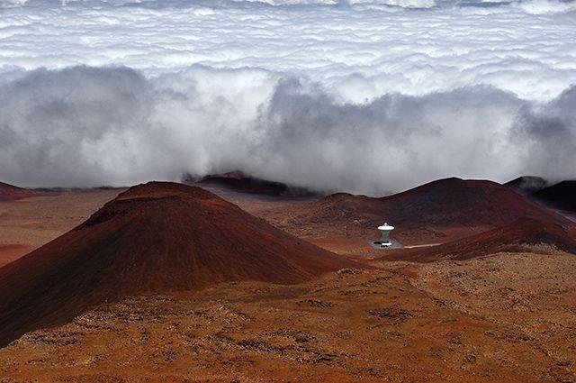 Zdjęcia: Mauna Kea, Big Hawaii, Nadciąga chmurowe , USA