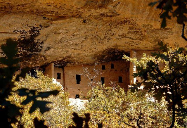 Zdjęcia: Mesa  Verde / Spruce Tree House, Colorado, Pueblo Indian Anasazi, USA