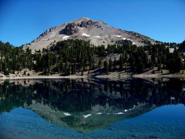 Zdjęcia: polnocna Kalifornia, Lassen Peak, USA