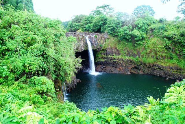 Zdjęcia: Hilo, Hawaje, Rainbow Fall, USA