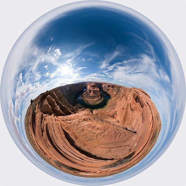 Zdjęcia: Horseshoe Bend, Arizona, Horseshoe Bend 3D, USA