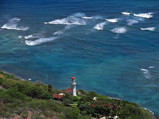 Zdjęcia: Honolulu, Oahu, Jedyna latarnia morska w moim archiwum, USA