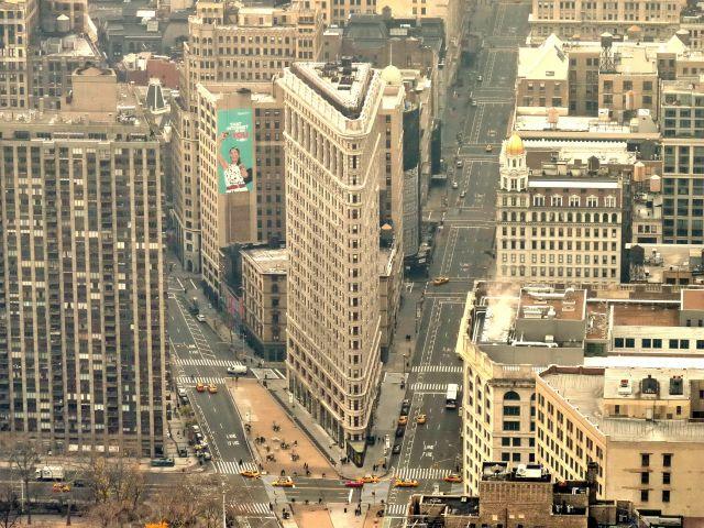 Zdjęcia: NYC, NY, Budynek żelazko , USA