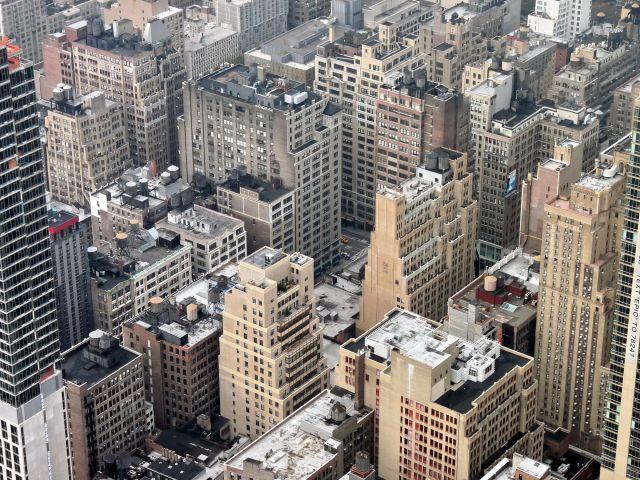 Zdjęcia: NYC, NY, Widok z Empire state building (1), USA