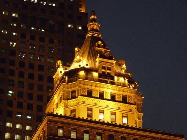 Zdjęcia: NYC, NY, noc w midtown, USA