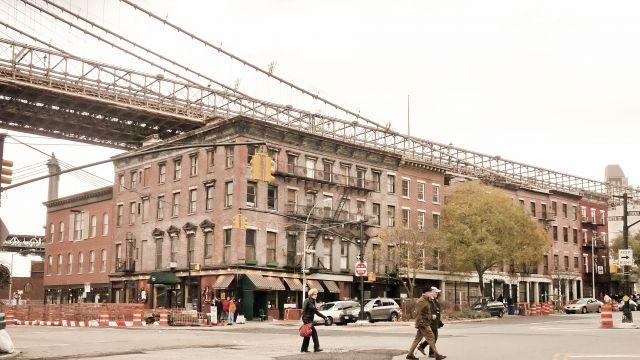 Zdjęcia: NYC, NY, Mieszkania pod Brooklyn bridge, USA