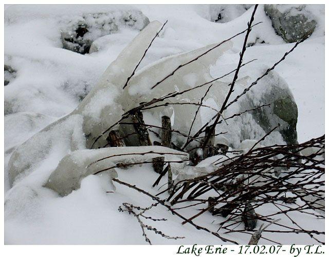 Zdjęcia: Cleveland, Jezioro Erie, Zima nad Erie 3, USA