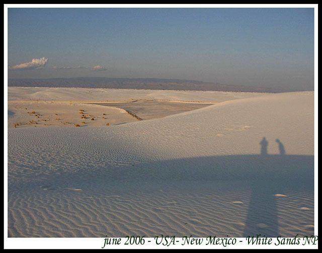 Zdj�cia: Nowy Meksyk, USA, Biale Piaski - park narodowy w Nowym Meksyku (4), USA
